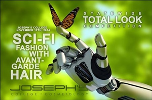 Statewide Total Look Competition :: Sci-Fi Fashion with Avant-Garde Hair
